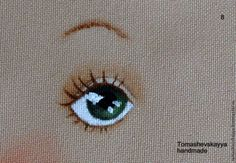 Мастер-класс: «Нарисуем глазки?» - Ярмарка Мастеров - ручная работа, handmade