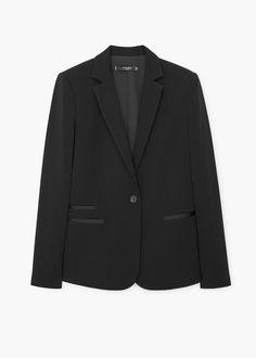 Essential structured blazer - Jackets for Women | MANGO USA