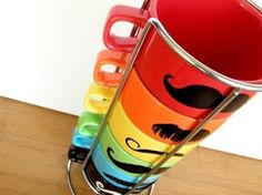 Mustache mugs. Glorious. I love these things. They are so cool and unusual.