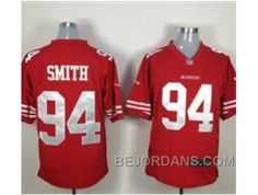 http://www.bejordans.com/free-shipping-60-off-nike-nfl-san-francisco-49ers-94-justin-smith-red-game-jerseys.html FREE SHIPPING ! 60% OFF! NIKE NFL SAN FRANCISCO 49ERS #94 JUSTIN SMITH RED GAME JERSEYS Only $20.00 , Free Shipping!