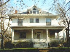 The Harrold House is on West Wood Street in Decatur, Illinois.When Amy and Tim Patrick moved into their house in the 700 block of West Wood Street a few years ago, they knew they had a ghost..... or actually, three of them. Shortly after moving in, Amy started to get strange feelings and sensations as if someone was watching her. She didn't know at the time, but she was not the first occupant of the house who felt as if the place might be haunted.