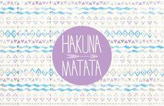 Hakuna Matata - Laptop Decal