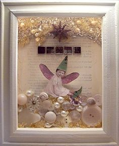 One more fairy shadow box