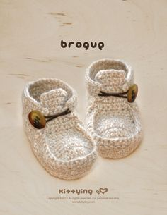 Mulu.us / Kittying.com - Khaki Brogue Crochet PATTERN