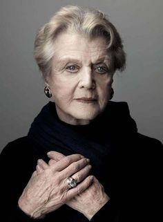 She is getting old.   Angela Landsbury