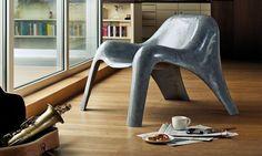 Clubsessel Spurt - Betonsessel - gepresster Beton - Wohnzimmer einrichten - ideen - möbel - industrie - industrial - clean - modern - paulsberg - heimatwerke