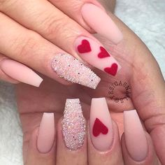 7 Valentine's Day Nails That Will Melt Your Heart - Nail Favorites