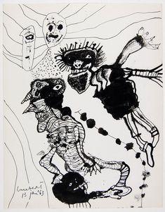 lucebert drawings
