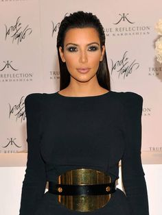 Sometimes it's what you don't do to your hair that makes it sultry. An off-the-face sleek style like Kim Kardashian's is uncomplicated, yet still oozes sex appeal.