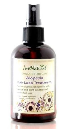 Alopecia Hair Loss Treatment by Just Natural. $39.99. Stop Losing Your Hair and Promote New Hair Growth. Alopecia is a condition is thought to be an autoimmune disorder in which the body attacks its own hair follicles and stops hair growth. There is evidence that T cell lymphocytes cluster around these follicles, causing inflammation and subsequent hair loss. An unknown environmental trigger such as emotional stress or a pathogen is thought to combine with hereditary f...