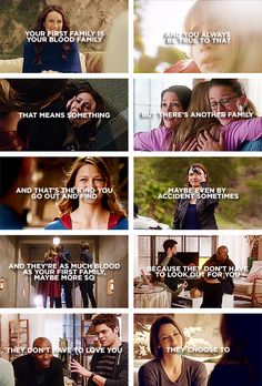 they don't have to love you, they choose to #supergirl