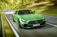 Mercedes Benz - The Green Queen. Ride with Pride.
