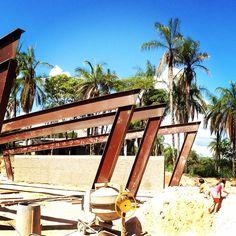 #architecture #arquitetura #obra Residência Duas Marias
