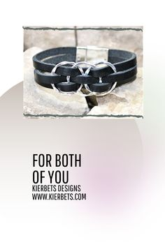 The three textured eternity circles are interlocked and woven into the leather creating a uniquely stunning effect. A matching silver magnetic clasp completes the piece.  #bracelets #leather #bracelet #jewelry #accessories #braceletsformen #mensfashion #fathersday #dad #family #fatherhood #father #accessories #braceletsformen #mensfashion #musthave #menswear #menstyle #mensstyle #gentlemen #menwithstyle #outfit #streetwear