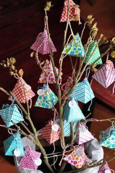 Origami Christmas Gifts Box Templates 47 New Ideas Christmas Calendar, Noel Christmas, Christmas Countdown, Christmas Crafts, Christmas Ornaments, Diy Xmas, Christmas Origami, Homemade Advent Calendars, Diy Advent Calendar