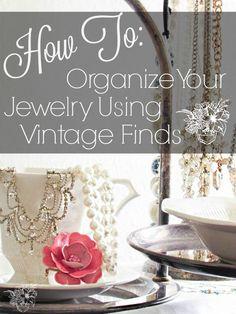 Oraganizing Jewelry