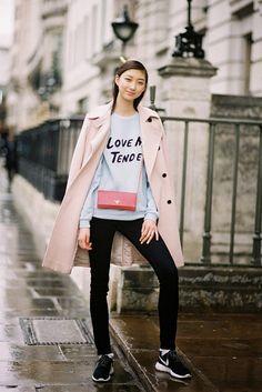 Vanessa Jackman: London Fashion Week AW 2014....Yue