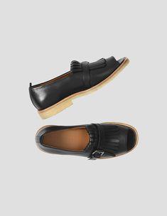 059711bfac0a5 MARGARET HOWELL - PEEP TOE GOLFER SHOES - Shoes - Shop - Women Loafer Shoes