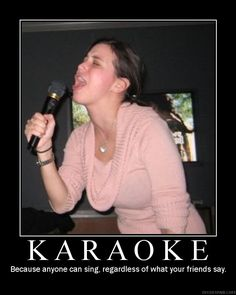If youre gonna sing, give it all you got! Karaoke Vancouver