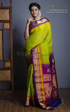cc27422fcc 62 Best Gadwal Silk Saree images in 2018 | Silk, Silk sarees, Indian ...