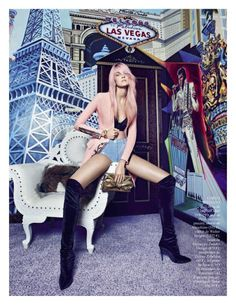 Vogue Espana - Lo Que Pasa En Las Vegas..