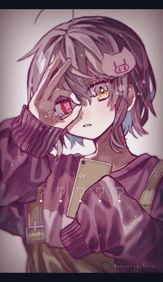 Yandere Anime, Manga Anime Girl, Anime Child, Cute Anime Boy, Kawaii Anime Girl, Cute Anime Character, Character Art, Character Design, Anime Drawing Styles