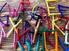 Twig Crafts, Nature Crafts, Etsy Crafts, Craft Stick Crafts, Fall Crafts, Kids Crafts, Craft Ideas, Ciel Pastel, Alphabet