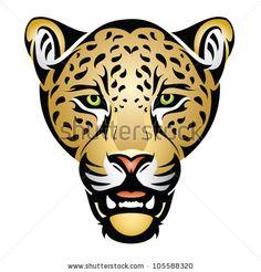 stock-vector-jaguar-head-vector-illustration-105588320.jpg (450×470)
