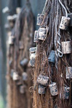 Rope it. fishing net - visnet - photo by jp-fotografie. Pelican Bay, Sea Captain, Sea Fishing, Am Meer, Fishing Villages, Belle Photo, Nautical, Sailing, Coastal