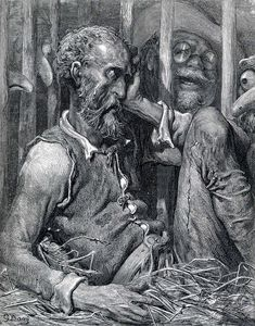 The Enchantment of Don Quixote, c.1868 - Gustave Dore - WikiArt.org