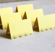 laser cut table cards