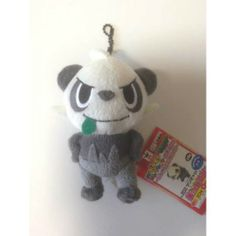 Pokemon 2014 Banpresto UFO Game Catcher Prize My Pokemon Collection Series Pancham Plush Keychain