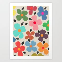 Dogwood 1 Art Print by Garima Dhawan | Society6