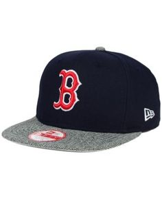 New Era Boston Red Sox Premium 9FIFTY Snapback Cap - Blue Adjustable