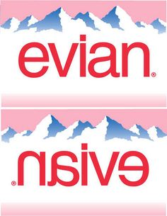 Evian = Naive by rogeriod, via Flickr