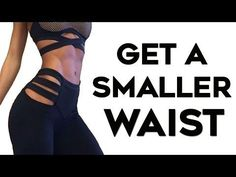 How To Get A Tiny Waist FAST | STANDING Abs Workout to Lose Belly Fat & Get A Smaller Waist - YouTube