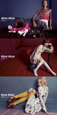 MIU MIU SS14 Shoes Editorial, Editorial Fashion, Miu Miu, Fashion Advertising, Fashion Poses, Women's Fashion, Fashion Editor, Manolo Blahnik, Catwalk