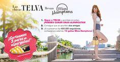 ¡Sigue a TELVA en Facebook y participa en el sorteo de 5 pares de alpargatas y 10 gafas @MissHamptons!