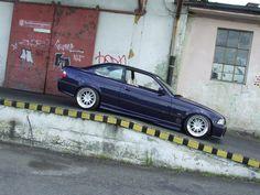BMW e36 coupe on hartge design C wheels