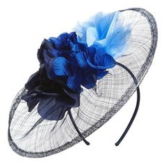 Women's Nordstrom Floral Bouquet Fascinator Headband (€35) ❤ liked on Polyvore featuring accessories, hair accessories, hats, floral hair accessories, head wrap headband, headband hair accessories, headband fascinator and flower hair accessories