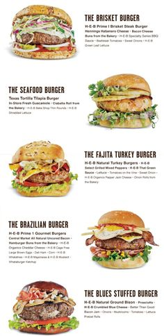 These are some pretty awesome ideas for gourmet burgers. We're especially a fan of the blues stuffed gourmet burger!