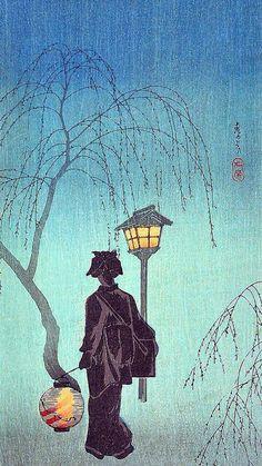 Shotei Watanabe - Spring Night (1930)