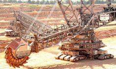 Los rodamientos NSK demuestran su fiabilidad en una excavadora de rueda de…