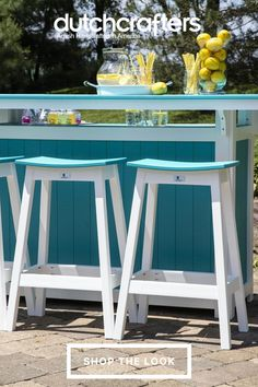 If you enjoy entertaining outdoors, the Berlin Gardens Poly Island Bar Set with the Saddle Stools is perfect for your home. Complete with four spacious storage compartments, the island bar provides plenty of space for all drink and food items. Easily serve up drinks to your guests and never worry about having to keep the bar and stools under cover due to its weather-proof materials. Island Bar, Outdoor Dining Furniture, Amish Furniture, Storage Compartments, Bar Set, Outdoor Entertaining, Food Items, Stools, Berlin