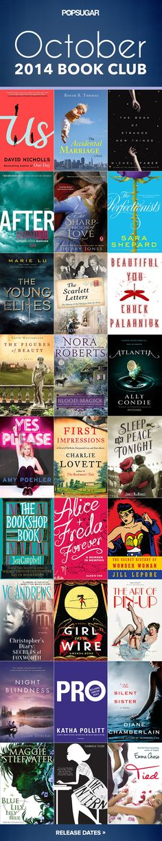 The best new books out October 2014.