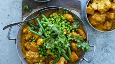 Adam Liaw's butter vegetable curry, and yoghurt naan Cookbook Recipes, Cooking Recipes, Easy Cooking, Crockpot Recipes, Eggplant Moussaka, Spiced Cauliflower, Cauliflower Recipes, Vegetable Curry, Vegetarian