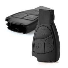 Coque 3 boutons pour cle telecommande MERCEDES BENZ Series A B M S C E CLS CLK SLK FOB case