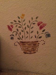 Debby's Home.  Flower Basket!