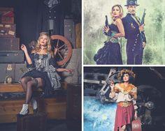 5 ways to incorporate Steampunk into a modern day wardrobe. Steampunk Fashion, 5 Ways, Modern, Painting, Art, Craft Art, Trendy Tree, Painting Art, Kunst