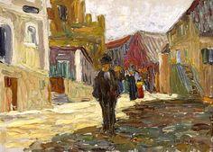 Wassily Kandinsky (Russian, 1866-1944) Kallmunz - Vilsgasse II
